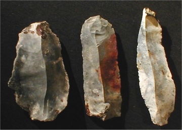 Paleolithic, Mousterian, and Neolithic stone age tools